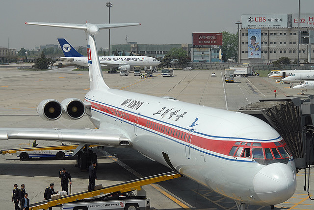 Avion de la compagnie Air Koryo