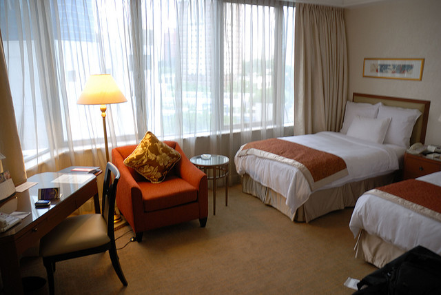 Chambre double au Singapore Marriott Hotel