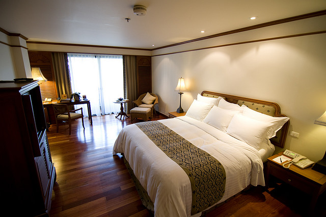 Chambre double du Bangkok Marriott Resort & Spa