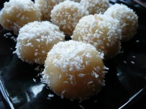 Recette Perles de coco 