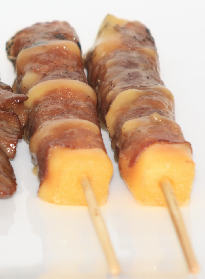 recette brochettes yakitori boeuf fromage recettes. Black Bedroom Furniture Sets. Home Design Ideas