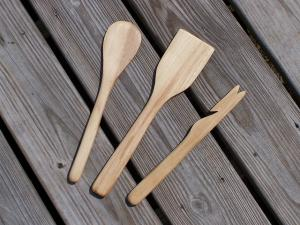 Ustensile Spatule en bois